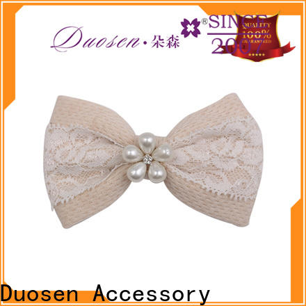 Duosen Accessory cross fabric hair Supply for women