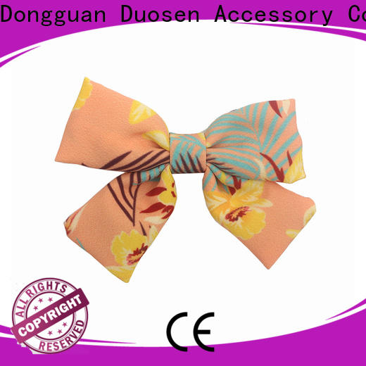 Duosen Accessory lace hair fabric factory for women