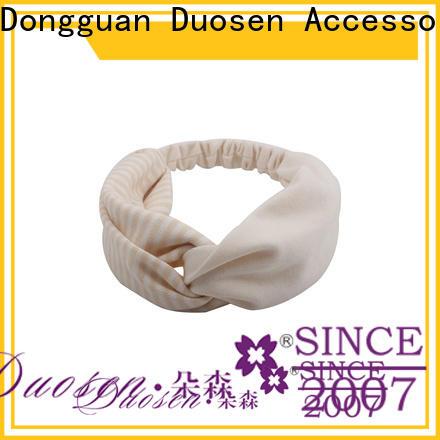 Duosen Accessory Custom fabric headbands company for sports
