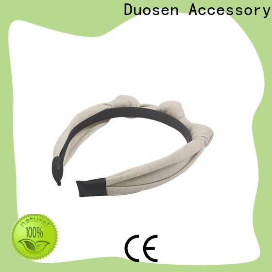 Duosen Accessory ecofriendly cloth headbands factory for party