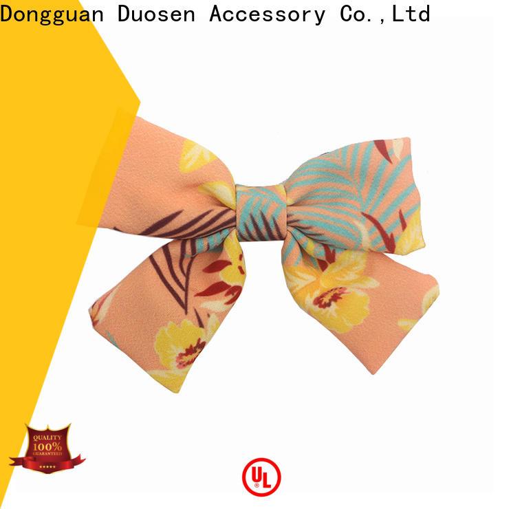 Duosen Accessory Best diy flower hair clip for business for girls