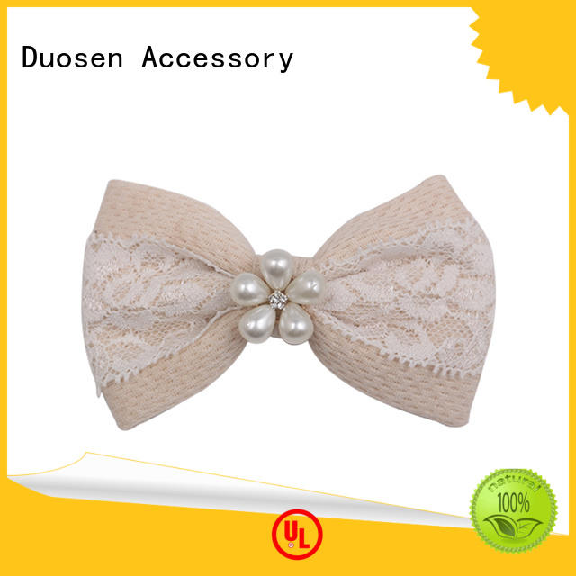 Duosen Accessory New homemade baby bows Suppliers for daily life