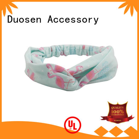 Duosen Accessory Top fabric headbands for business for daily Life