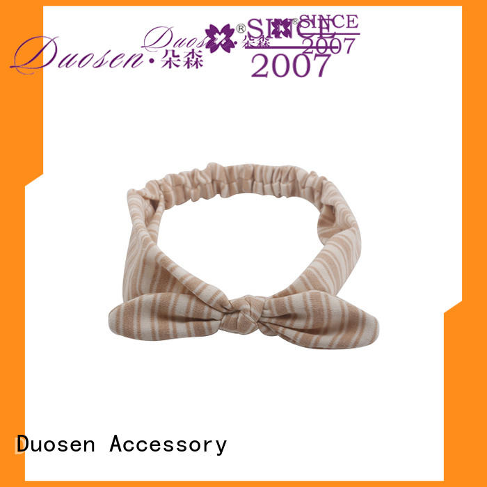 Duosen Accessory sides wire fabric headband series for running