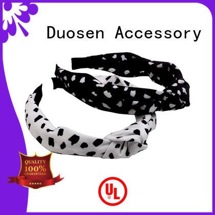 Duosen Accessory pattern cheap fabric headbands supplier for running