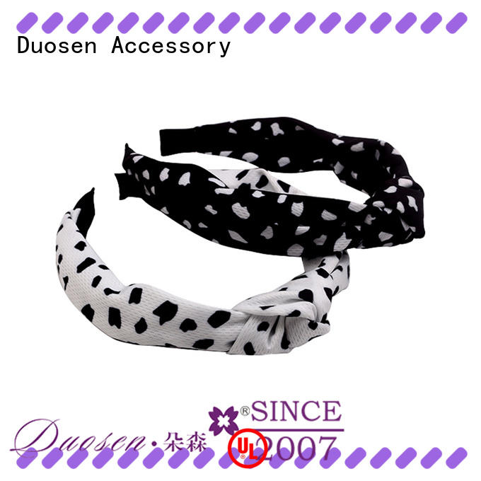 Duosen Accessory High-quality cheap fabric headbands manufacturers for prom