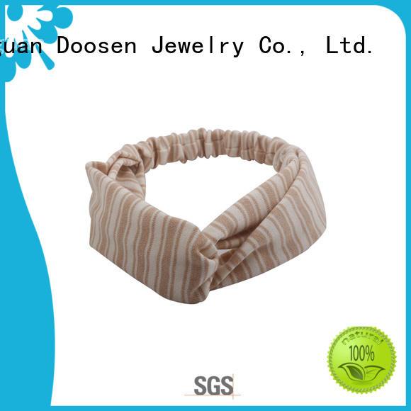 organic material cross headband organic spot covered Warranty Duosen Accessory