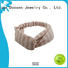 bright bow three organic material cross headband Duosen Accessory manufacture