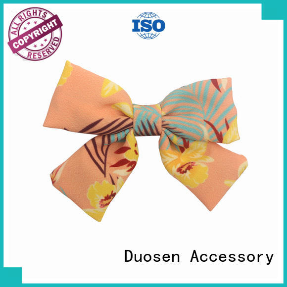 online organic material cute baby hair clip customized for daily life Duosen Accessory