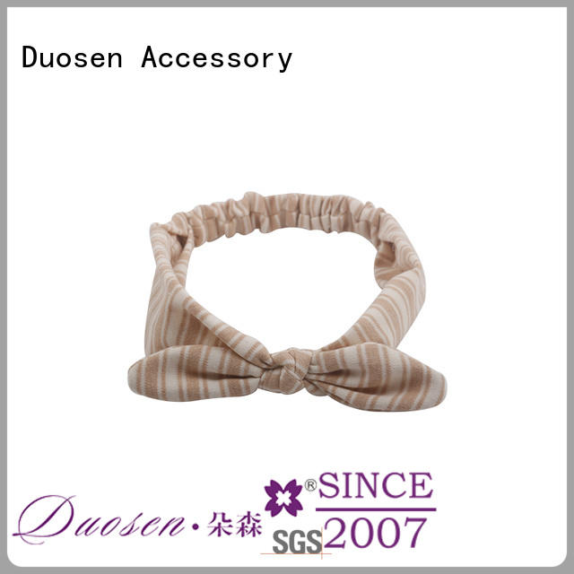 Duosen Accessory sides fabric headbands wholesale for business for running