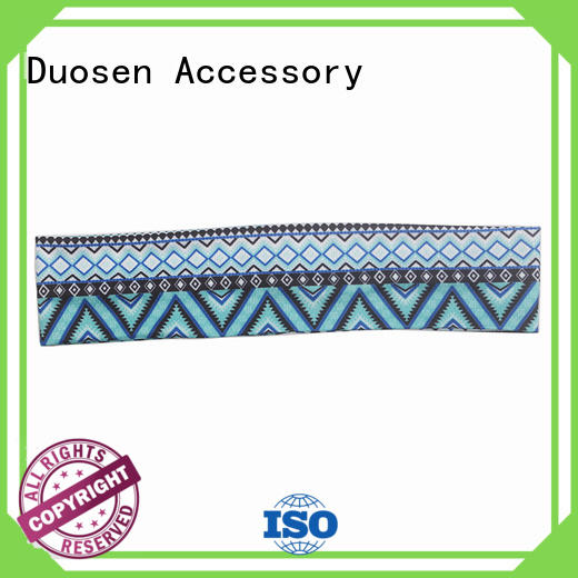 Duosen Accessory Top fabric bow headband Supply for prom