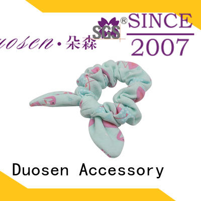 Wholesale fabric scrunchies color factory for daily life