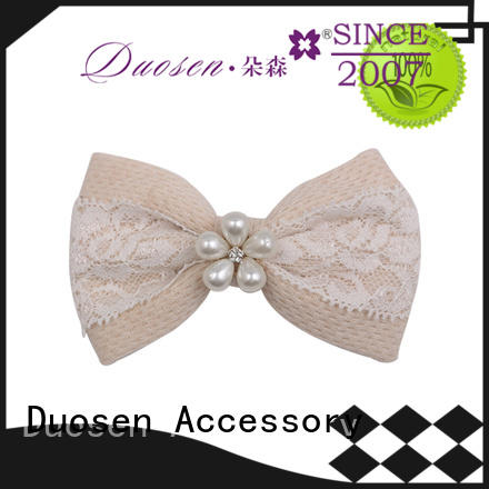 Duosen Accessory organic cloth holding clips on sale for girls