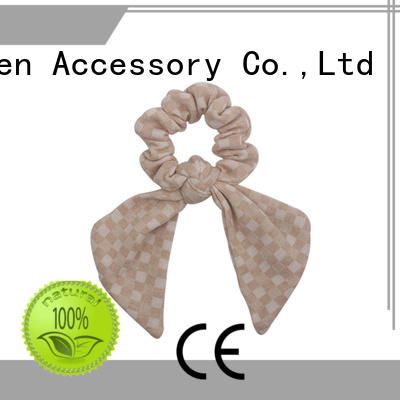 Duosen Accessory super gentle fabric scrunchies series for women