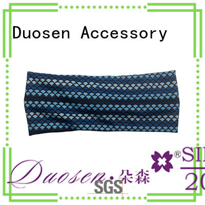 OEM organic material knit headband keep you a wonderful looking for prom