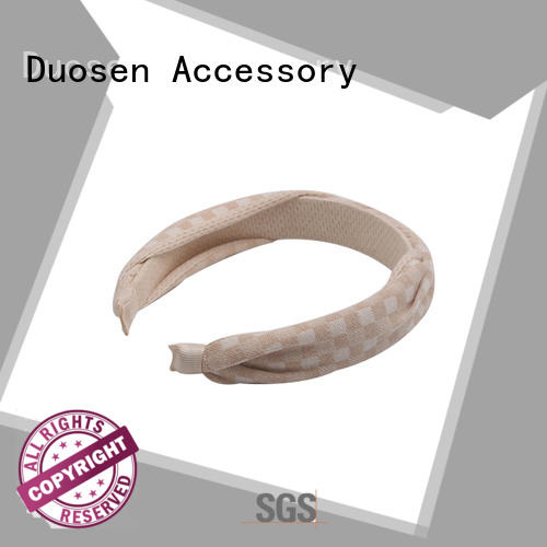 Duosen Accessory selling fabric headband with regular use for daily Life