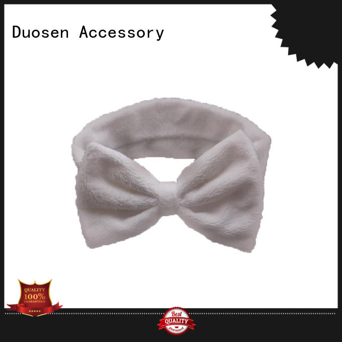 Duosen Accessory cow eco-friendly plastic hairband series for running