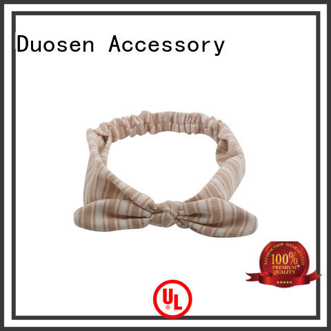 Duosen Accessory light fabric headbands factory for daily Life
