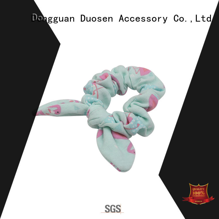 lightweight bow hair scrunchie scrunch wholesale for girls