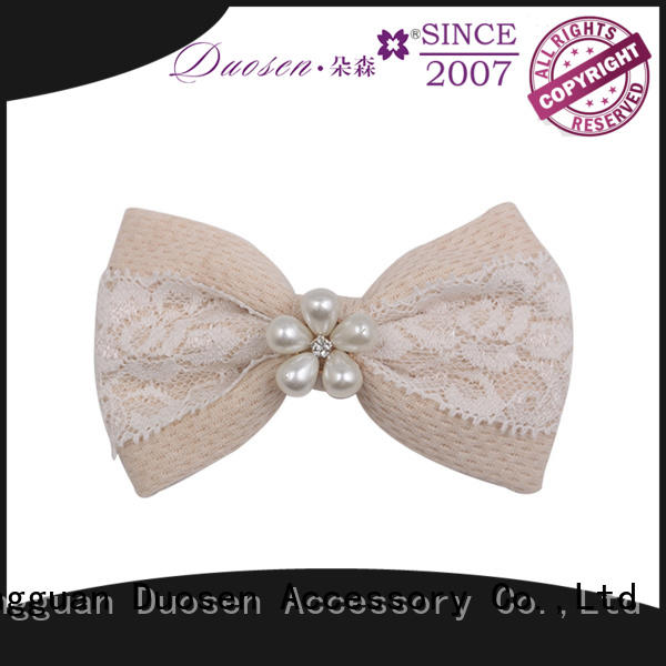 Duosen Accessory New hair bow decorations for business for girls