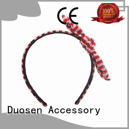 Duosen Accessory fabric fabric hair bands with regular use for prom