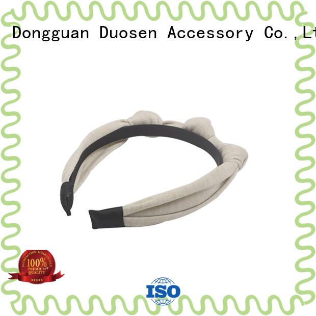 Duosen Accessory OEM eco-friendly custom headband design for daily Life