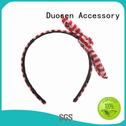Duosen Accessory organic eco-friendly headband manufacturers for daily Life