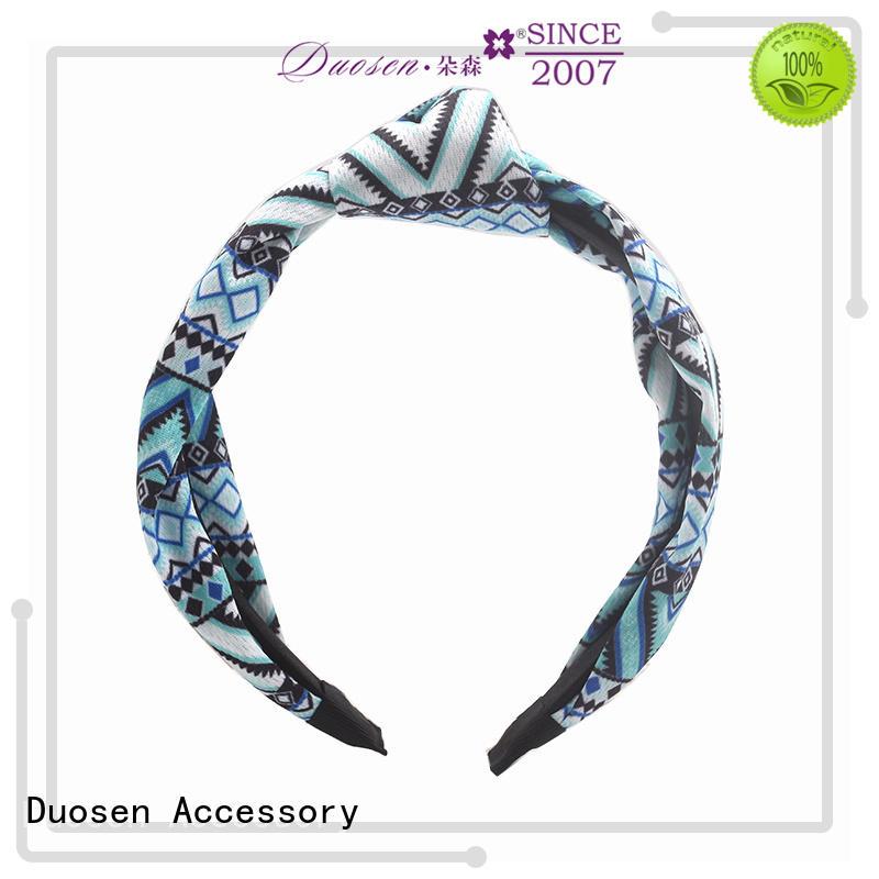 New twisted fabric headband hawaii company for party