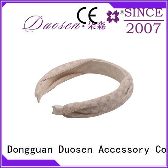Duosen Accessory hairband turban headband company for prom