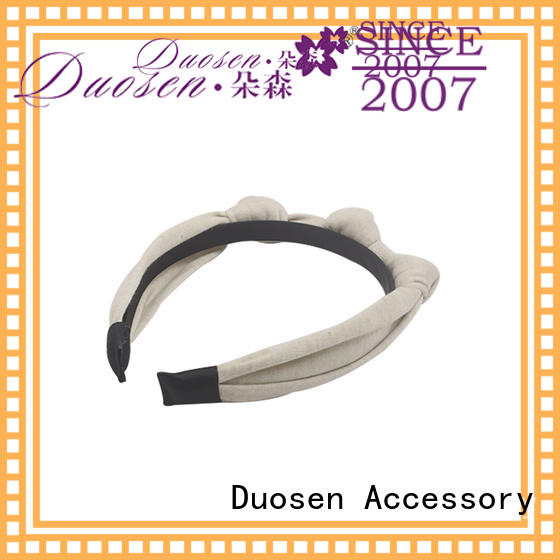 Duosen Accessory pineapple organic cotton headband Suppliers for party