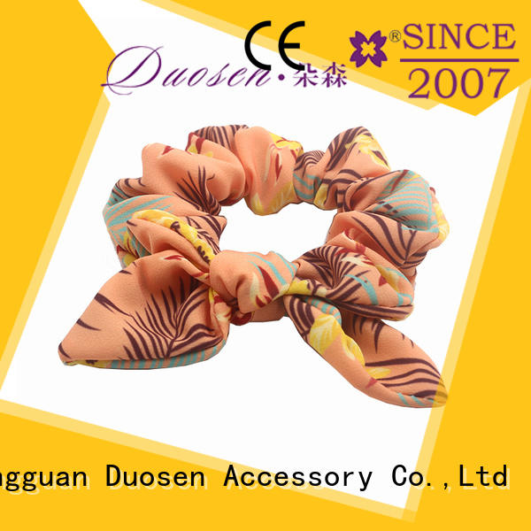 Duosen Accessory super gentle best hair scrunchies gentle on your hair for girls