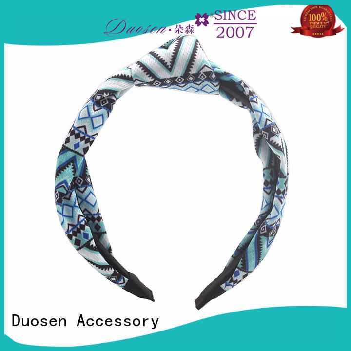 Duosen Accessory lightweight fabric headbands wholesale series for daily Life