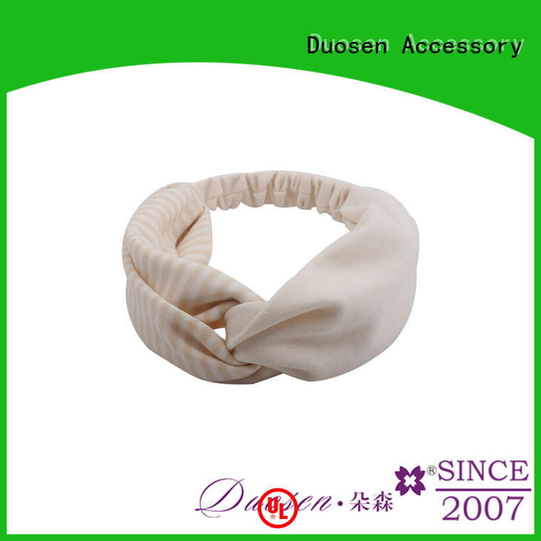 Duosen Accessory Top girls fabric headbands manufacturers for party