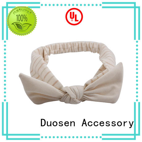 Duosen Accessory color fabric headbands Suppliers for dancer