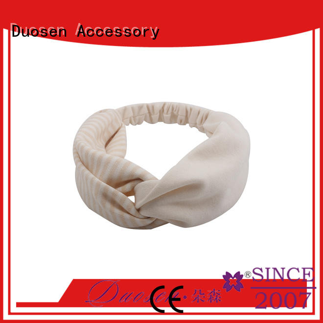 Top organic fabric bow headband cross manufacturers for daily Life