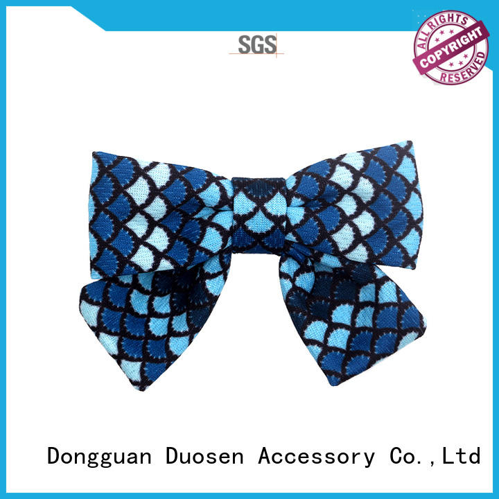 Duosen Accessory lace how to make satin flower hair clips for business for party
