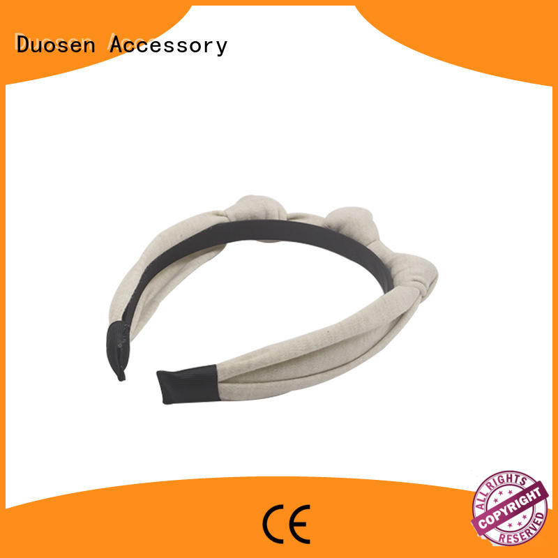 OEM fabric elastic headbands cross supplier for daily Life