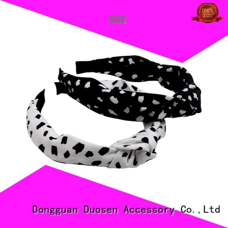 Wholesale cotton turban headband headband factory for sports