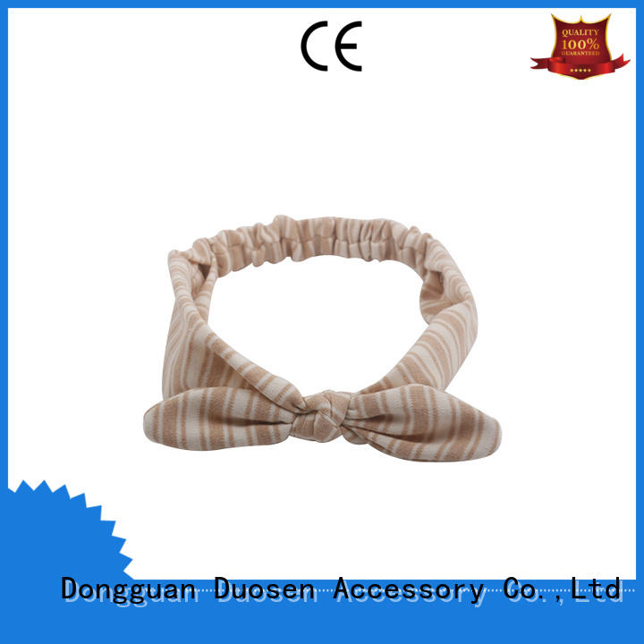 Duosen Accessory Custom cloth headbands factory for prom