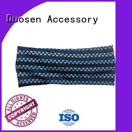 Duosen Accessory charming fabric headbands customized for party