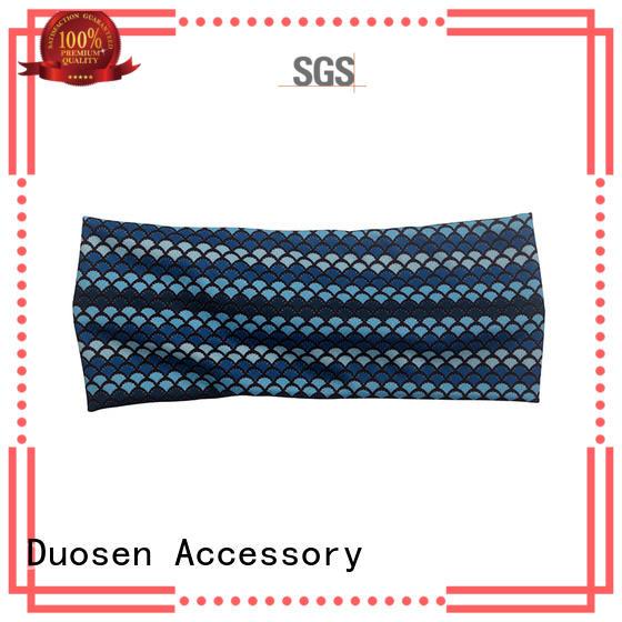 Duosen Accessory charming fabric headband manufacturer for dancer