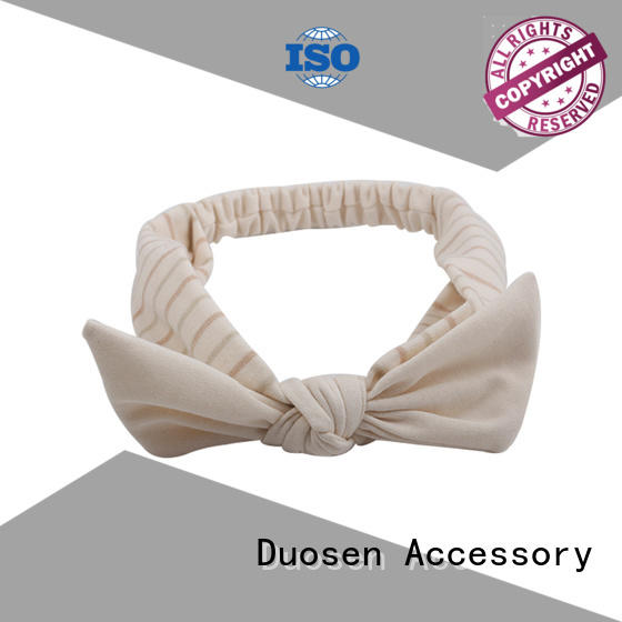 Duosen Accessory three fabric headbands factory for party