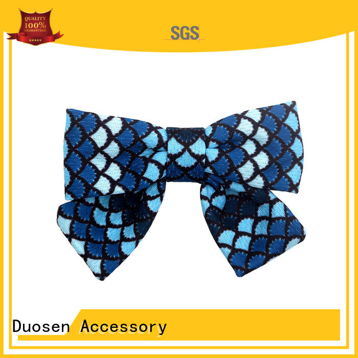 accessories cotton hair bows ecofriendly for party Duosen Accessory