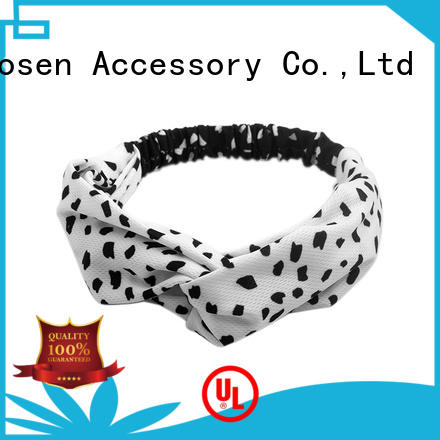 High-quality organic fabric headband color factory for sports