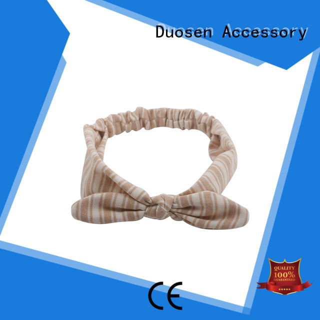 Duosen Accessory eco-friendly Recycled material hairband wholesale for running
