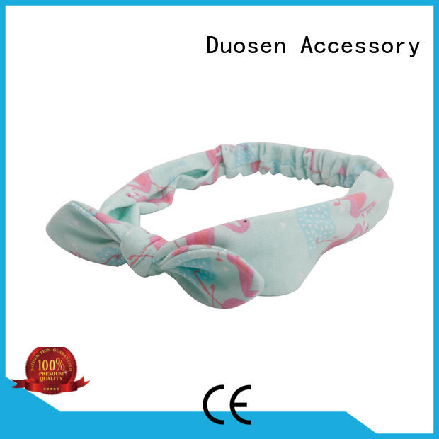 Duosen Accessory Wholesale organic cotton headband Supply for dancer