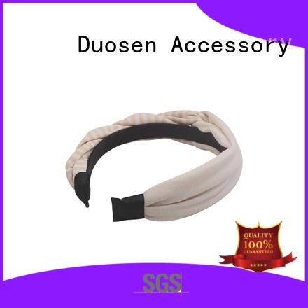 Duosen Accessory organic fabric headbands company for daily Life
