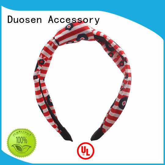 Duosen Accessory High-quality fabric headbands manufacturers for running