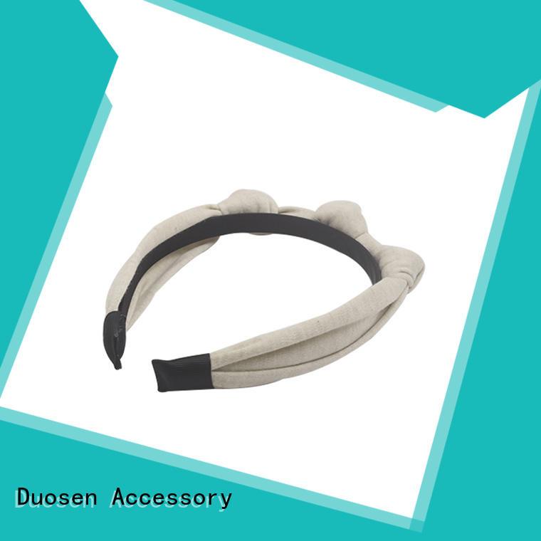 Duosen Accessory lightweight eco-friendly headband flowers for prom