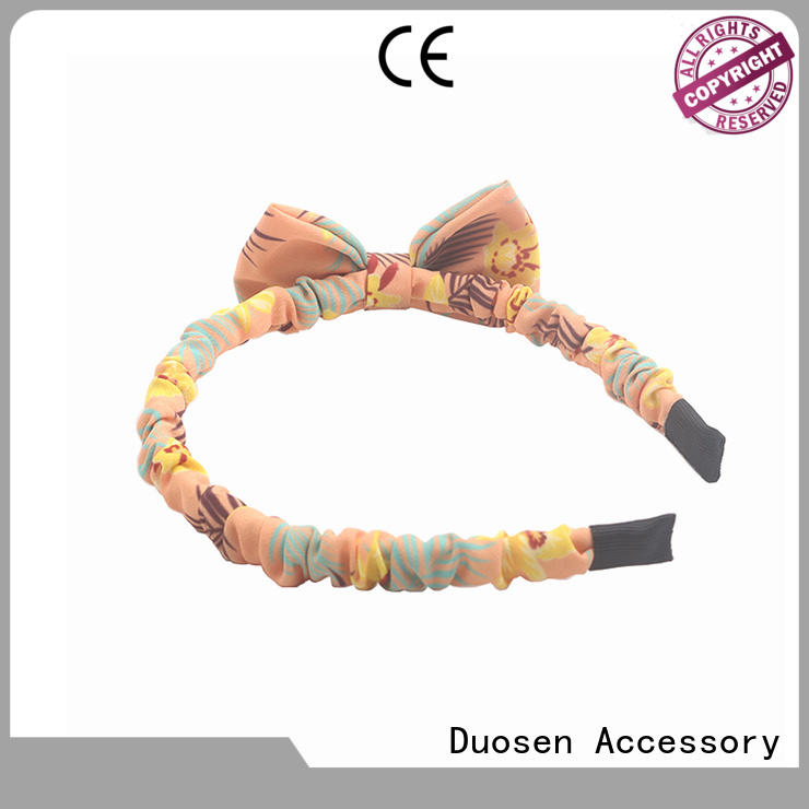 Duosen Accessory New fabric headbands Suppliers for prom